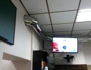 Нержавеющие воздуховоды в зале